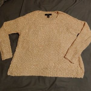 Forever 21 peachy pink sweater